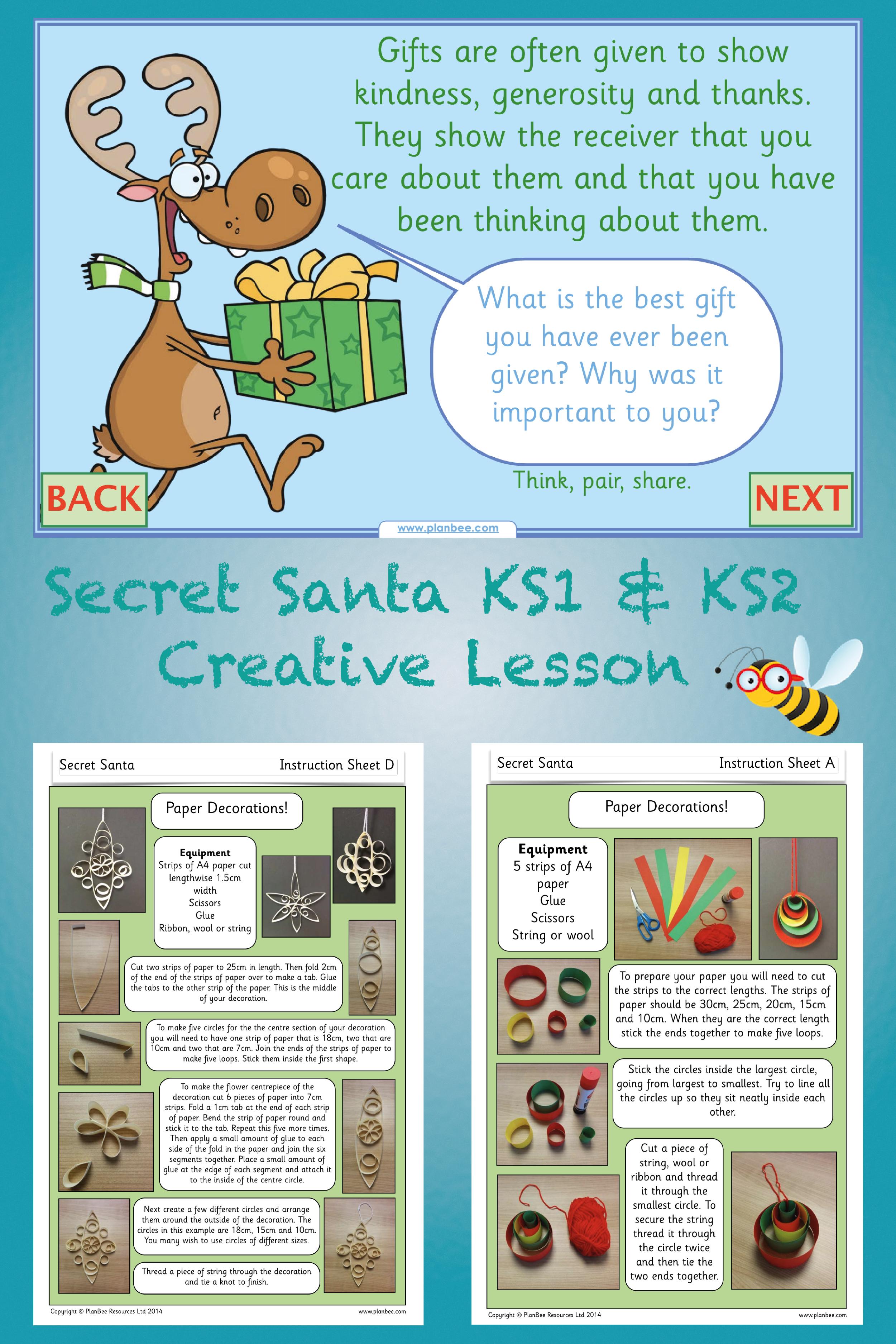 Secret Santa Ks2 With Images