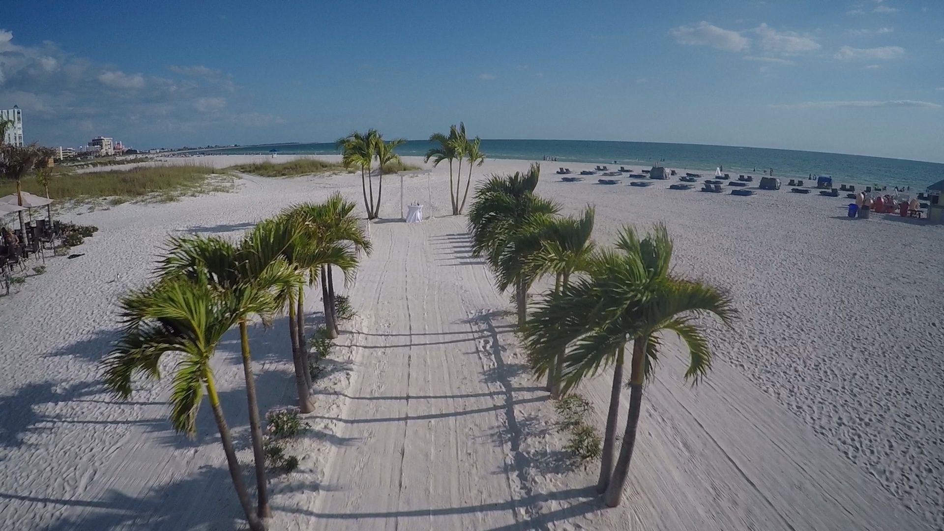 South Ceremony Site At The Grand Plaza Shot By St Pete Beach Photographer Celebrations Of