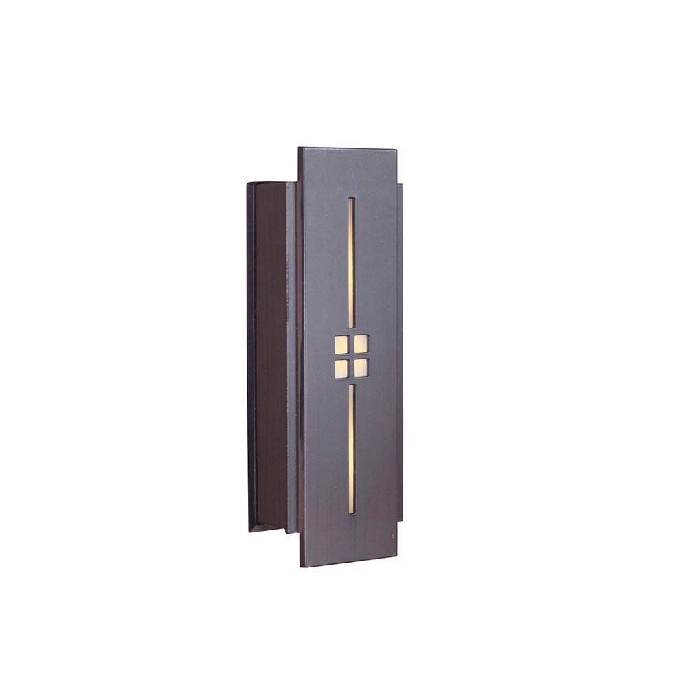 DoorKnobsOnline.com Offers: Craftmade CRA-132598 Door Bell Aged Iron Tieber by Craftmade - Door Bells and Chimes Collection