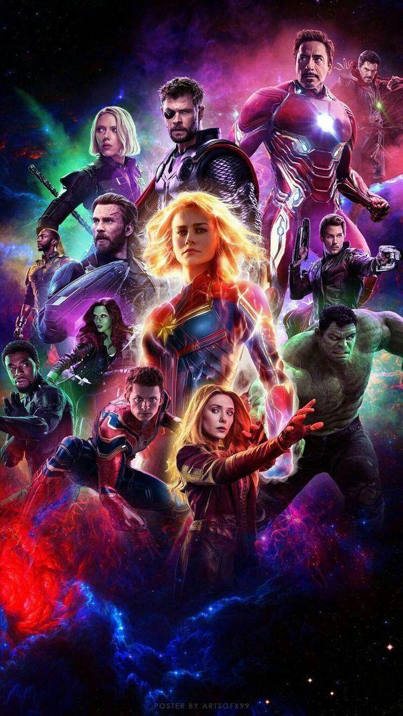 Avengers End Game Vingadores Marvel Filme Os Vingadores