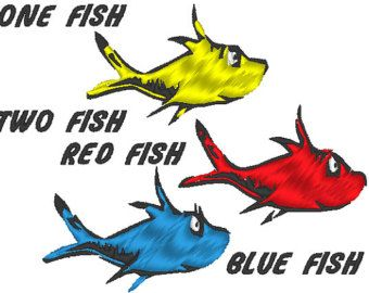 one fish two fish red fish blue fish clip art clipart panda free rh pinterest co uk  dr seuss one fish two fish red fish blue fish clip art