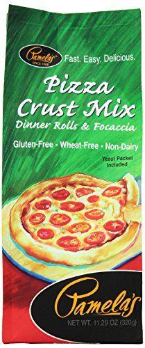 Pamela's Products Gluten Free Pizza Crust Mix, 11.29 Ounc ...