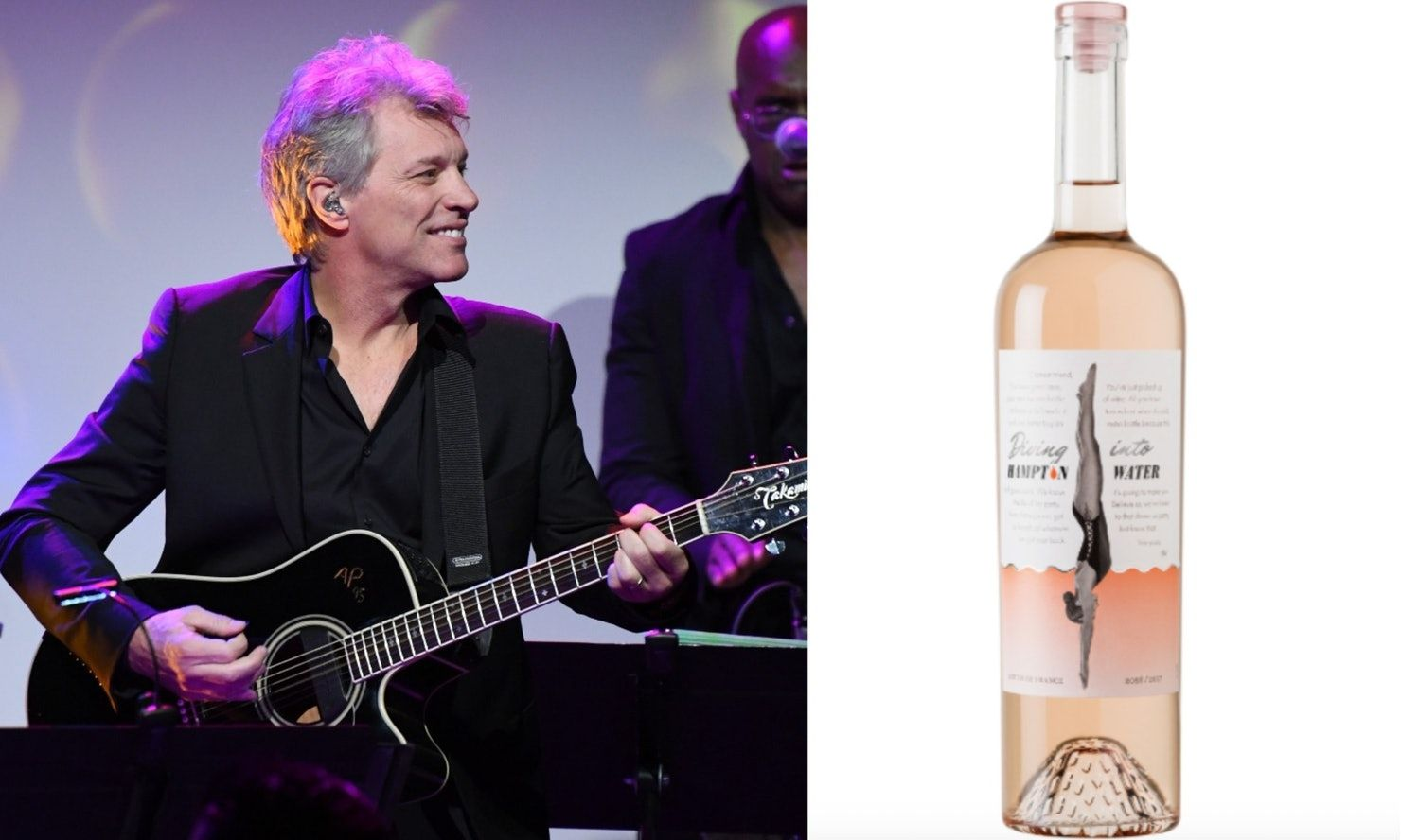 Diving Into Hampton Water Jon Bon Jovi Jesse Bongiovi S New Rose Is Not A Wine For The Broken Hearted Jon Bon Jovi Bon Jovi The Hamptons