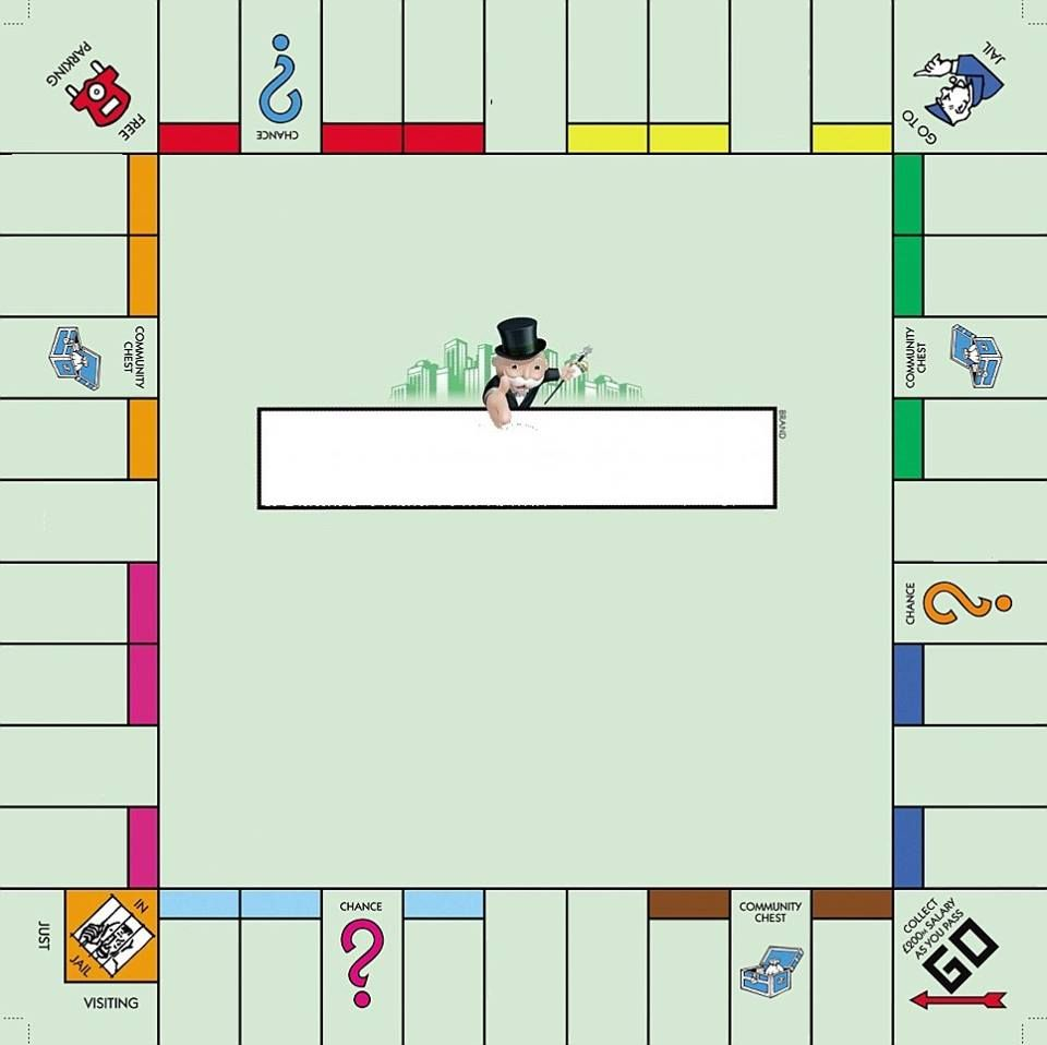 Monopoly Template | games | Pinterest | Geschenkideen, Mathe und Schule