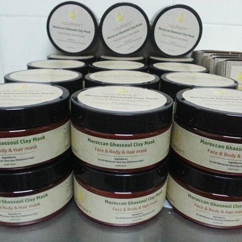 Arganoilhomemoroccan Ghassoul Clay For Skin Body Skin And For All Types Hair مسحوق الغاسول المغربي للوجه الجسم الجلد Argan Oil Oils Daily Moisturizer