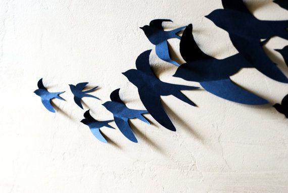 20 3d Bird Wall Art Etsy In 2021 Bird Wall Art Etsy Wall Art Bird Wall Decor
