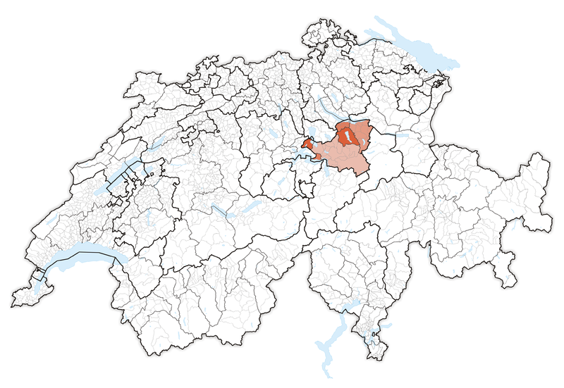 Karte Lage Kanton Schwyz We Love SCHWYZ SZ Pinterest Switzerland