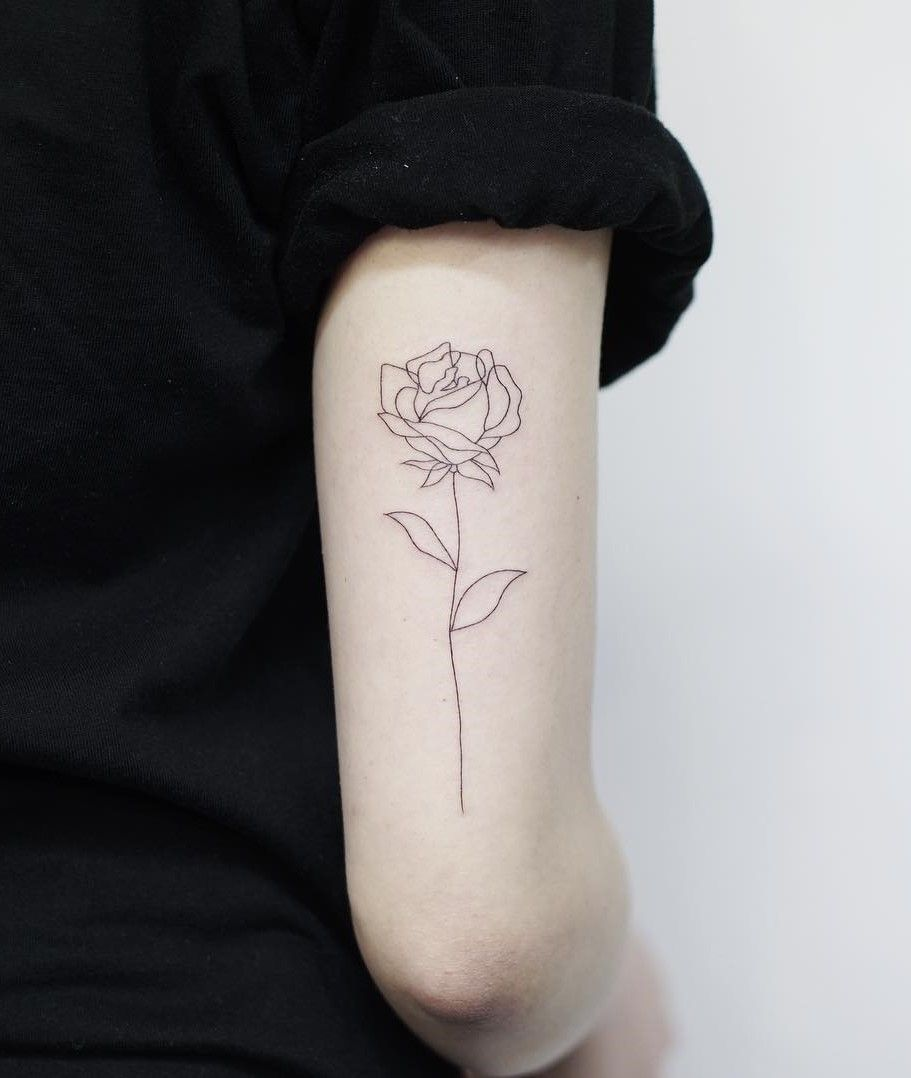 54 Cute Roses Tattoos Ideas Worth Checking Out