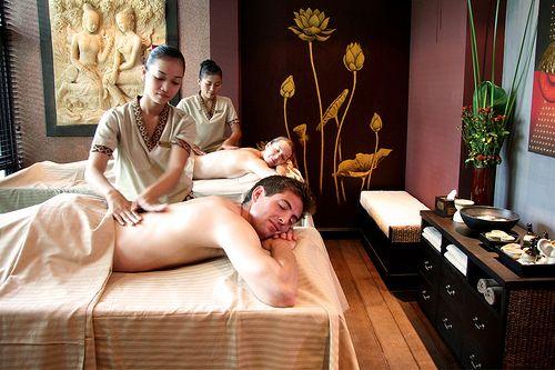 Girls naked massage
