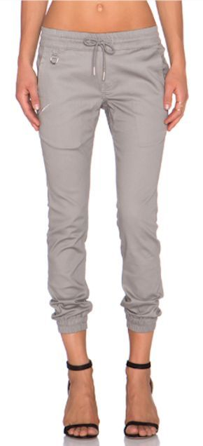 Grey joggers. I want a pair! They would be perfect for the lazy but casual day! Please send stitch fix!