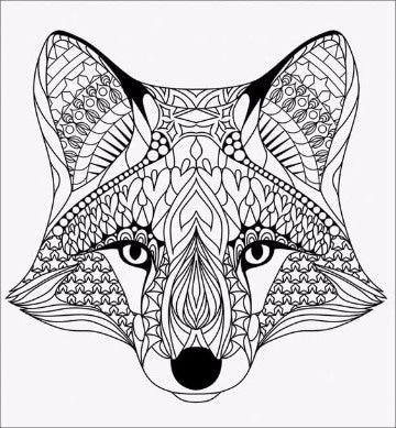 Dibujos Para Colorear Animales De La Sierra Mandalas Animales