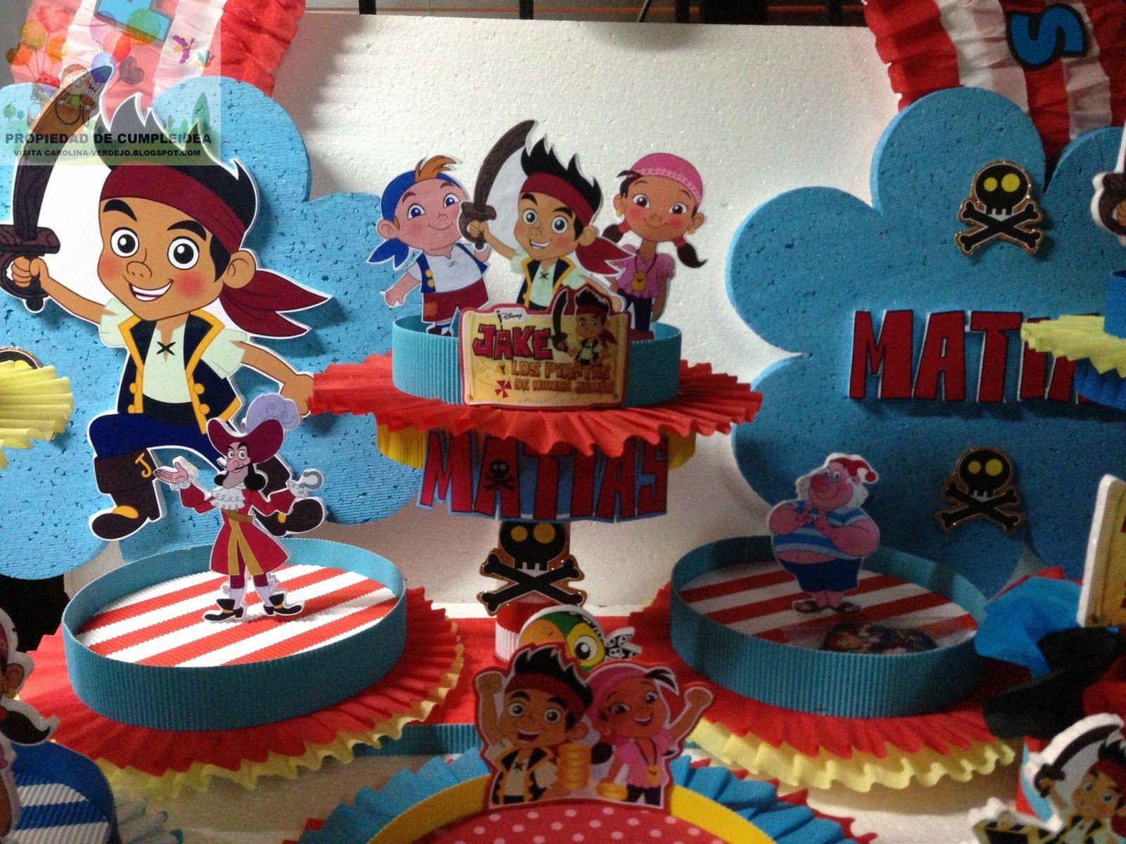 Decoraci n jake y los piratas de nunca jam s pictures to pin on - Decoraciones Infantiles Jake Y Los Piratas De Nunca Jamas