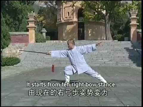 ▷ Shaolin Dragon's Fountain Sword (long quan jian