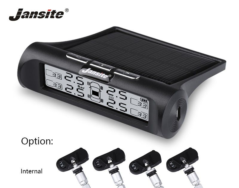 On Sale Jansite Smart Car Tpms Tyre Pressure Monitoring System New