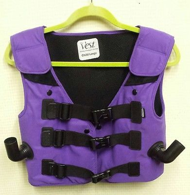 MINT CHILDS LARGE OEM Hill Rom Airway Clearance Vest Jacket 105/C3 with FREE EXPRESS SHIPPING @ iBidBuyShip.com!