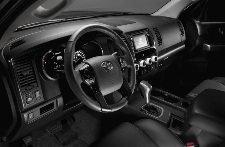 2020 Toyota Sequoia Interior Toyota tundra trd, Toyota