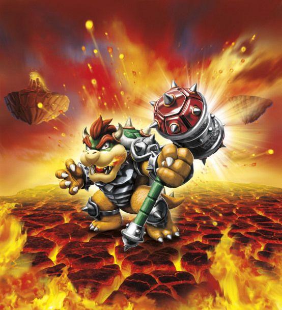 Toytolife Donkey Kong und Bowser erobern Skylanders SuperChargers
