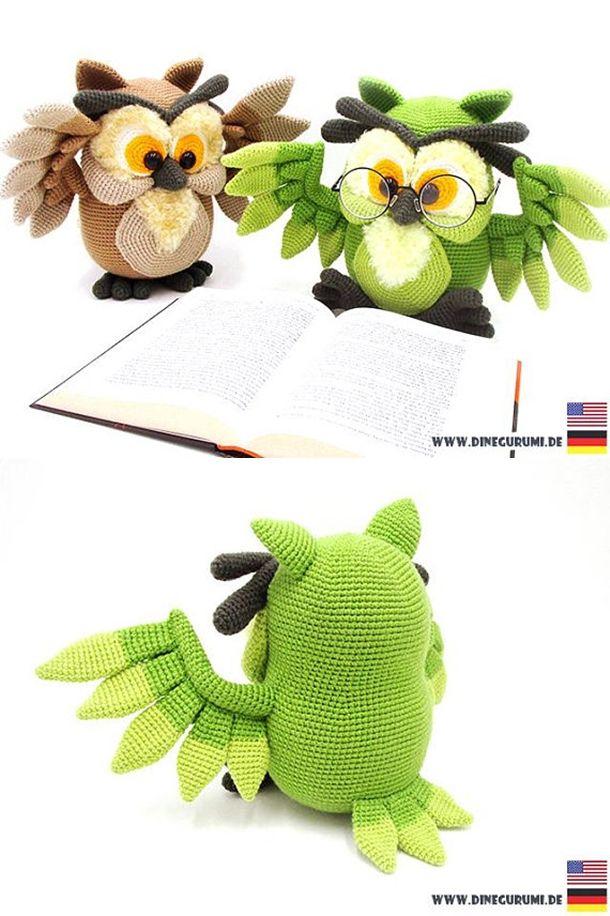 Owl - amigurumi crochet pattern | Pinterest | Crochet owls ...