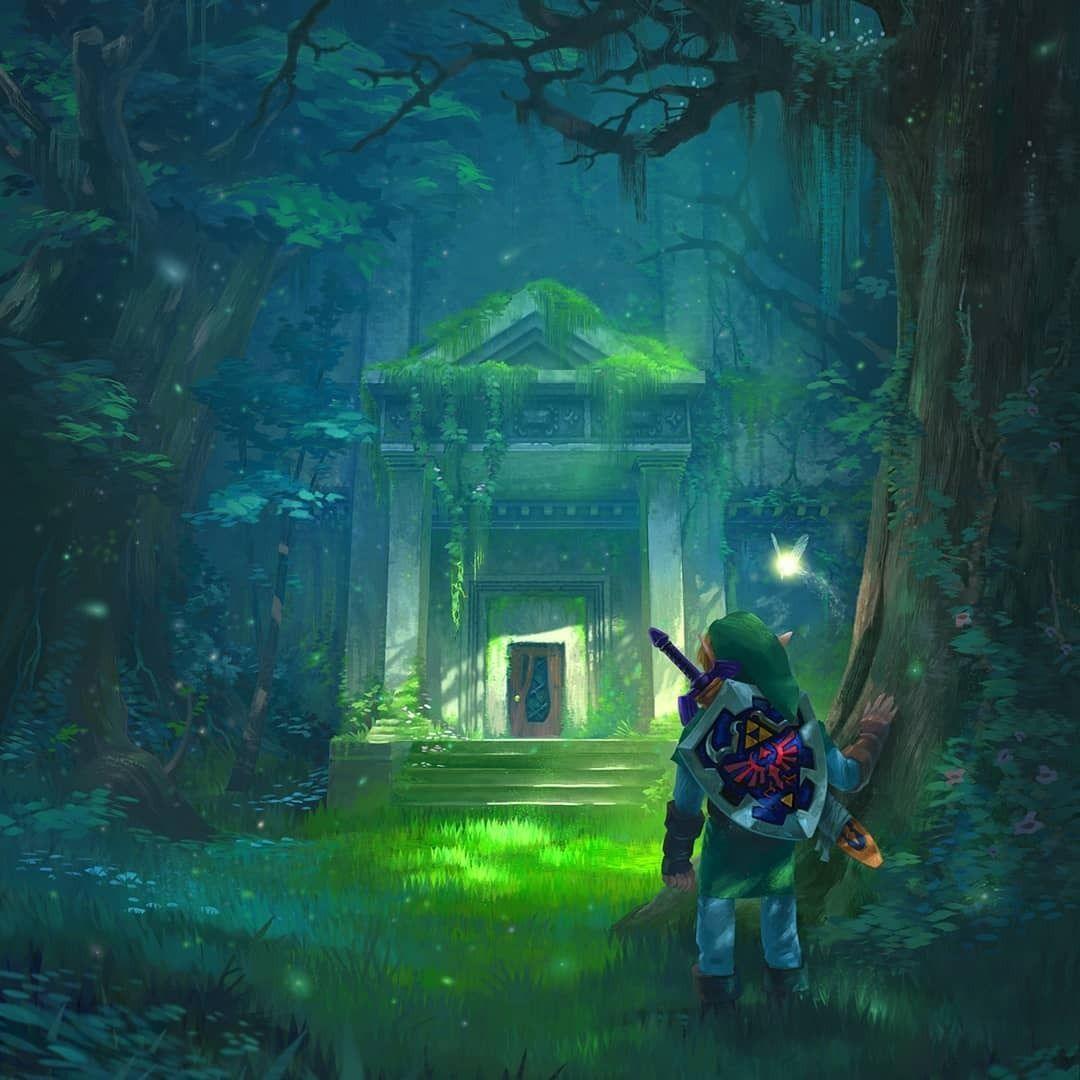 Ocarina of Time Temples by Tom Garden -