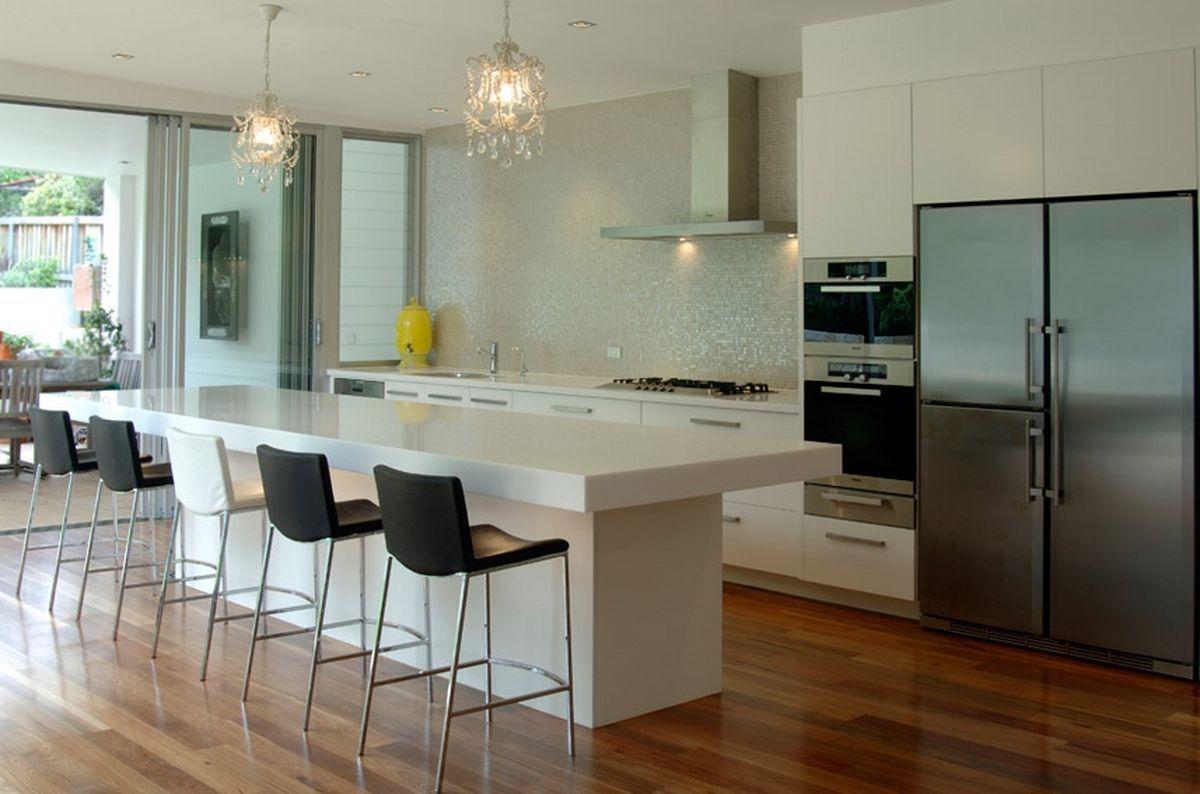 Küche Bar Design Ideen Küche hat ausgerüstet sein, mit so vielen ...