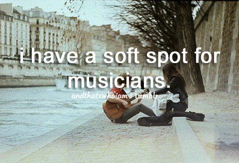 Because I am one...and for real musicians playing music together is the equivalent of making love together