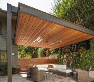 Fotos de techos techo movil patio pinterest for Techos terrazas fotos
