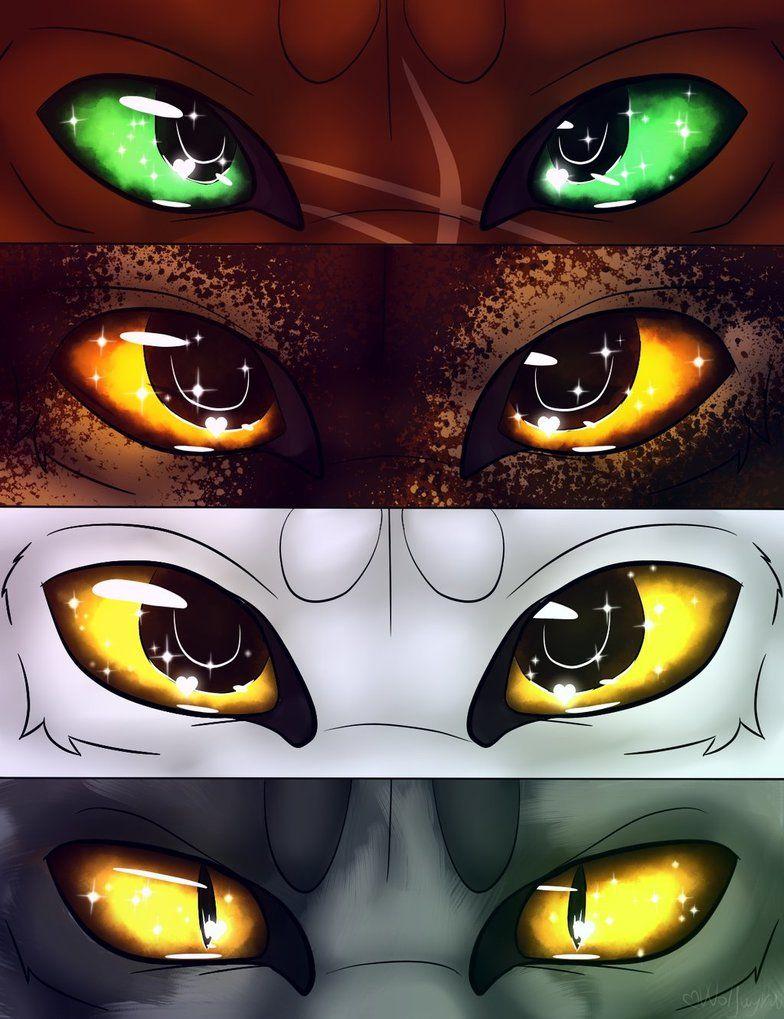 Warriors Eyes 3 By Catfurries Characters Pinestar Adderfang