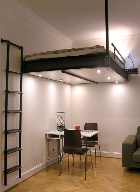 Steps to Saving Space 15 Compact Stair Designs for Lofts Projects