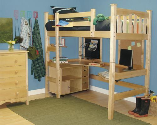11 Inspiring Kids Loft Bed With Desk Plans Photo Inspirational