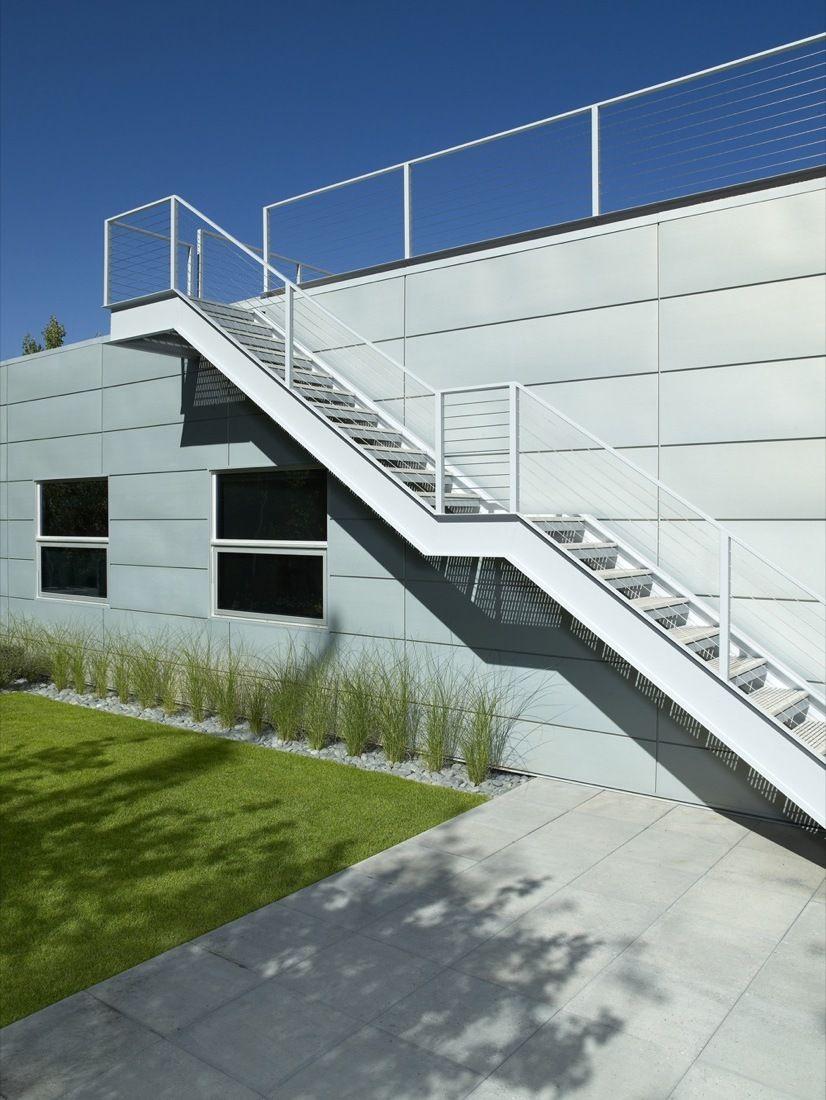 Moderne Stahltreppen außen - eine gute Idee? - Architektur ...