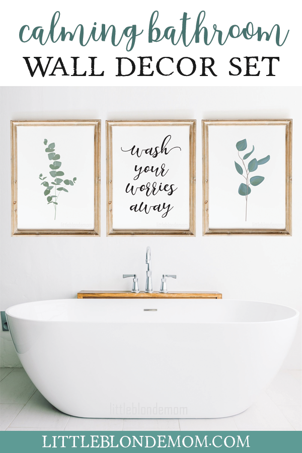 Bathroom Wall Decor Set Of 3 Wall Art Farmhouse Wall Art Home Printable Printable Wall Art Bathroom Signs Spa Bathroom Wall Art In 2021 Bathroom