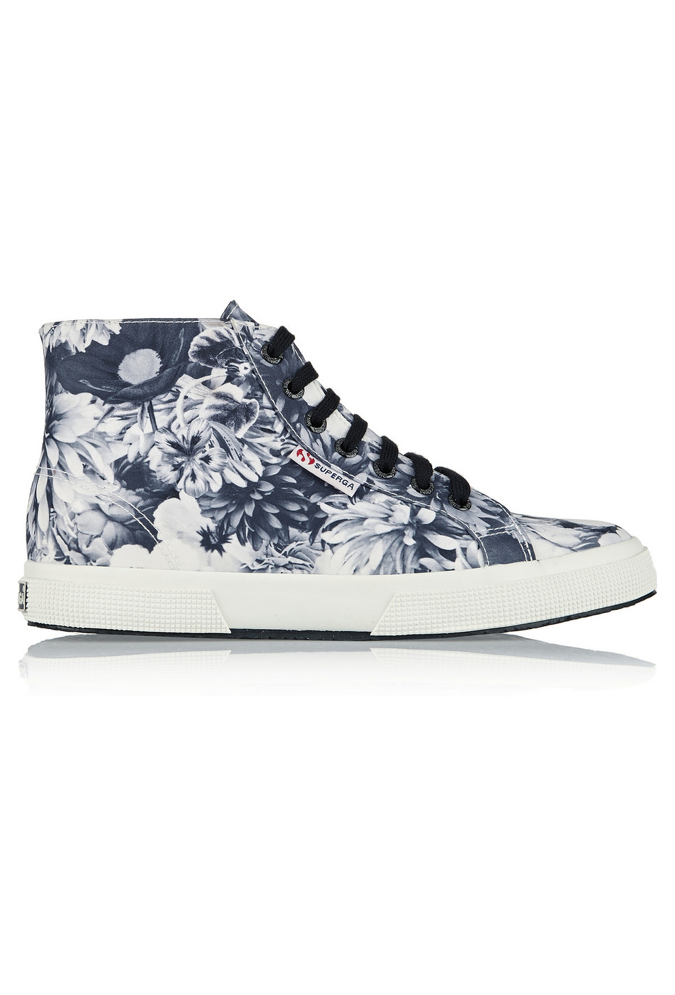 8c4529d63109 SUPERGA Floral-print satin sneakers - was  99.0