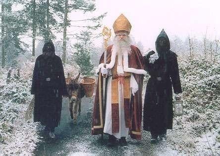 7 International Santa Traditions Involving Evil Sidekicks Wine Beatings Switzerland Krampus Bad Santa