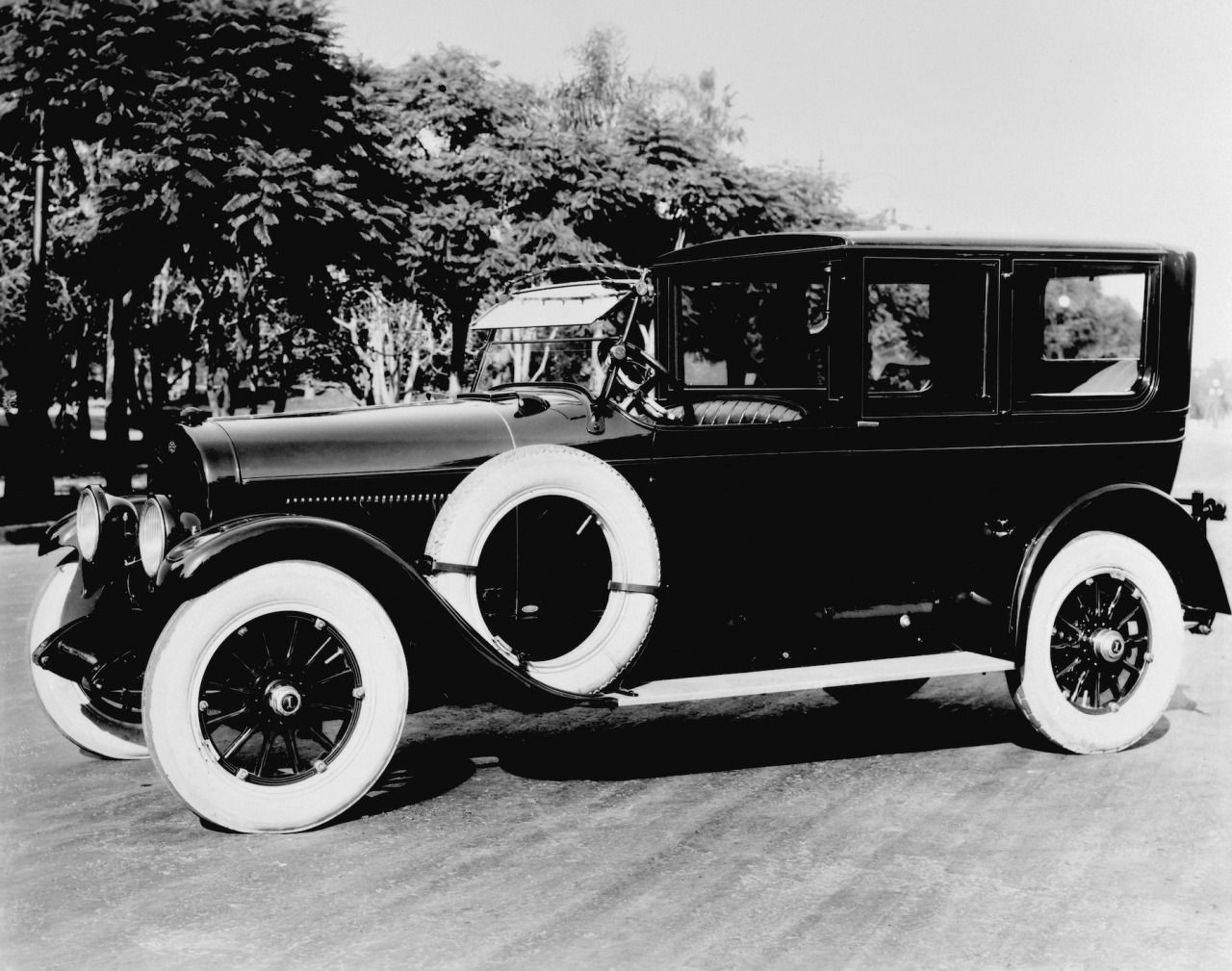 The elegant 1923 Brunn Town Car was built in limited numbers at the ...