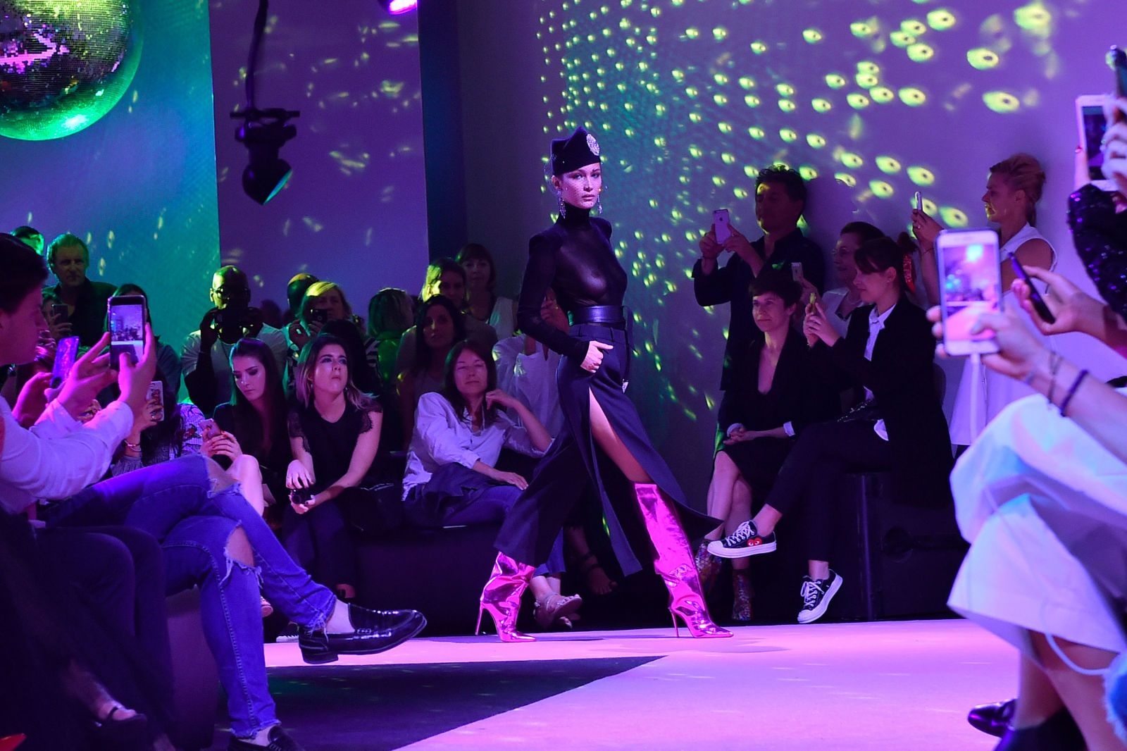 Was this Bella Hadid's most outrageous catwalk moment to