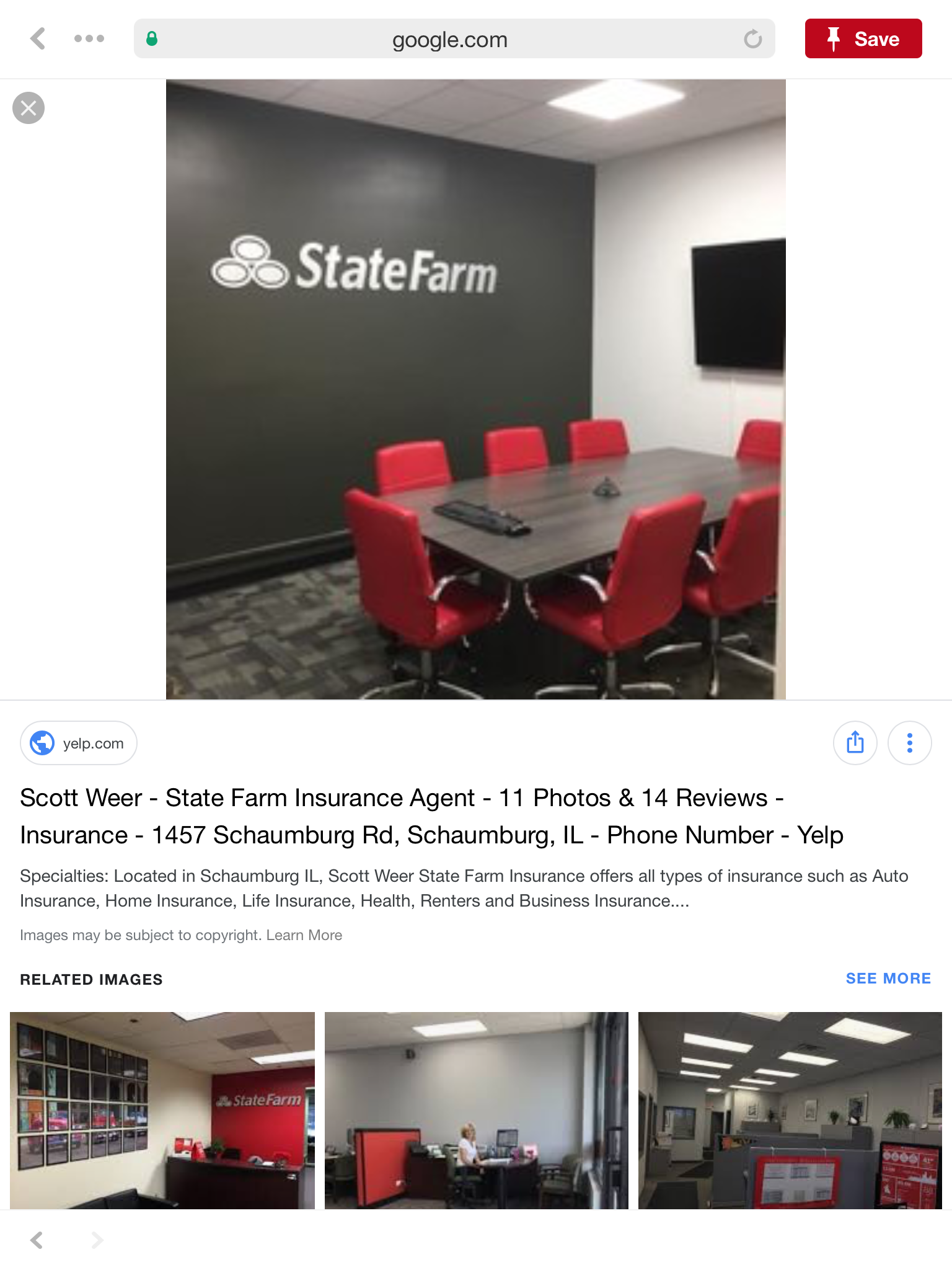 Pin by Randall Young on Office decor State farm office