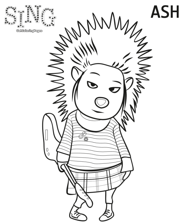 Top 10 Sing Movie Coloring Pages | Free Coloring Pages For Kids ...