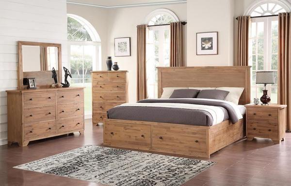 4pc k bedroom  master bedroom set king bedroom sets