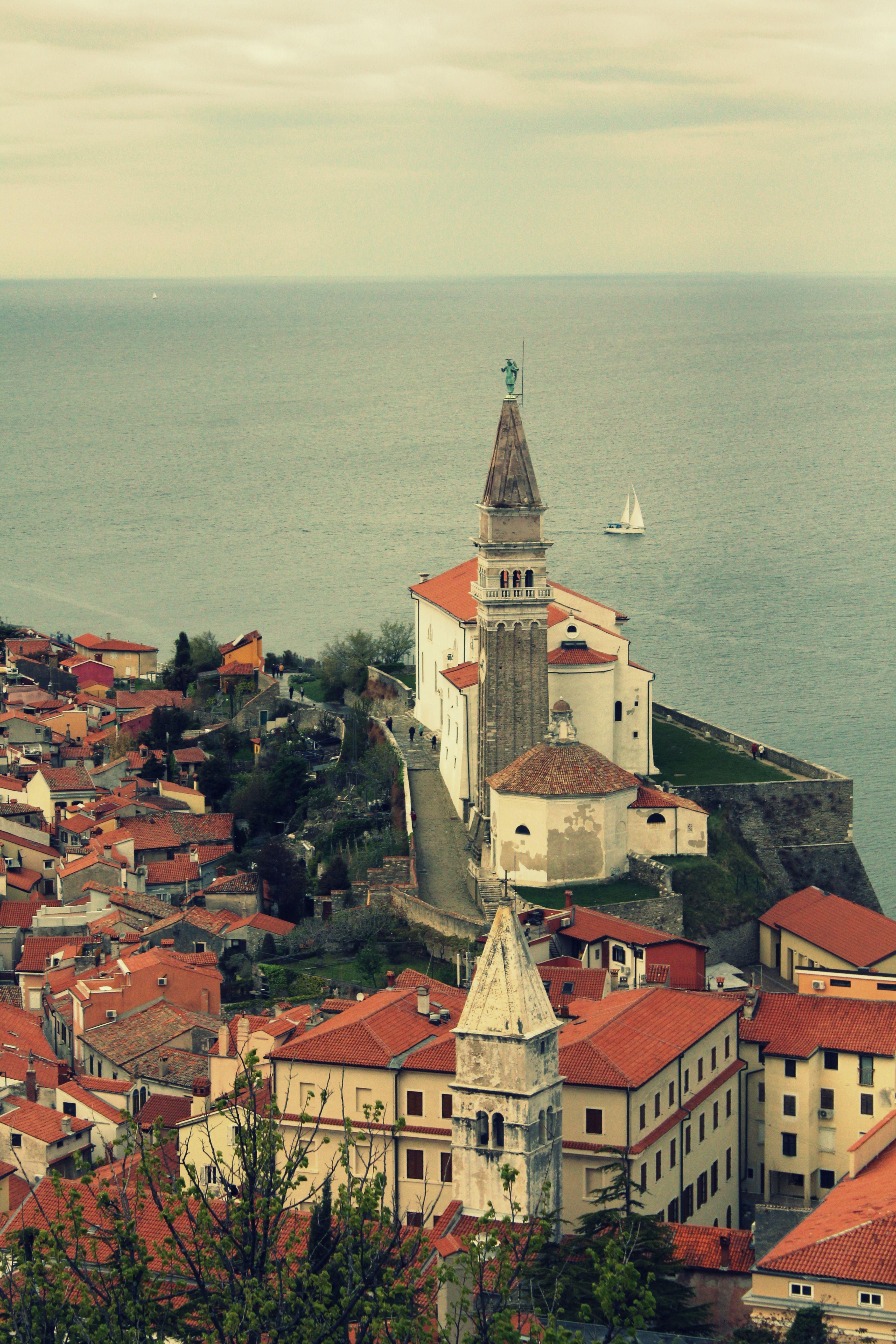 St. George's Parish Church; Piran - Slovenia <3