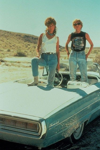 5 Thelma Louise Outfits We D Totally Wear Now Thelma And Louise Movie Thelma Louise Susan Sarandon