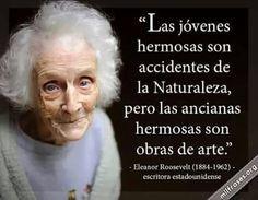 Anciana hermosa