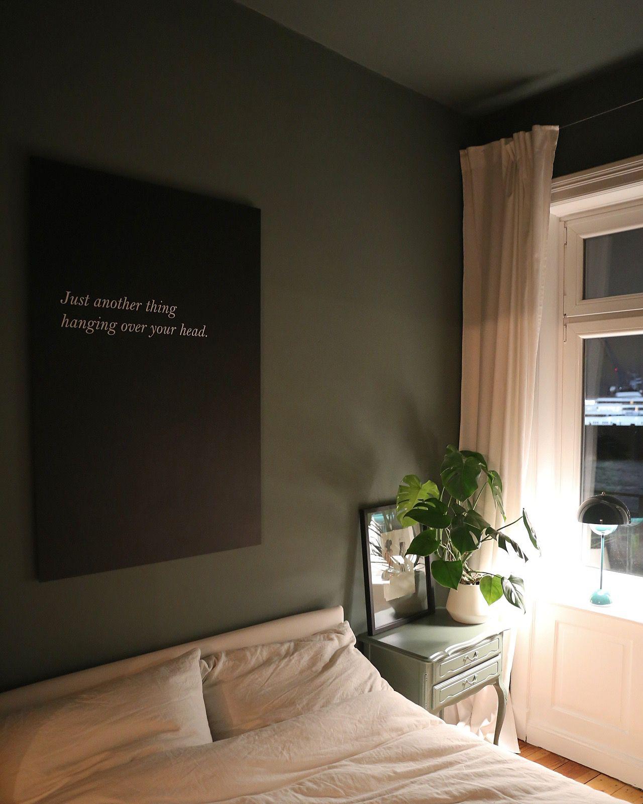 Bedroom Makeover Neue Farbe fürs Schlafzimmer