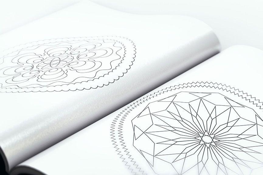 Libro para colorear - Mandalas | Libros para colorear, Mandalas ...