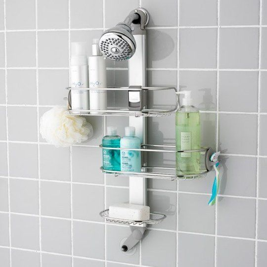 The Best Shower Organizers | Shelves, Small space living and Modern