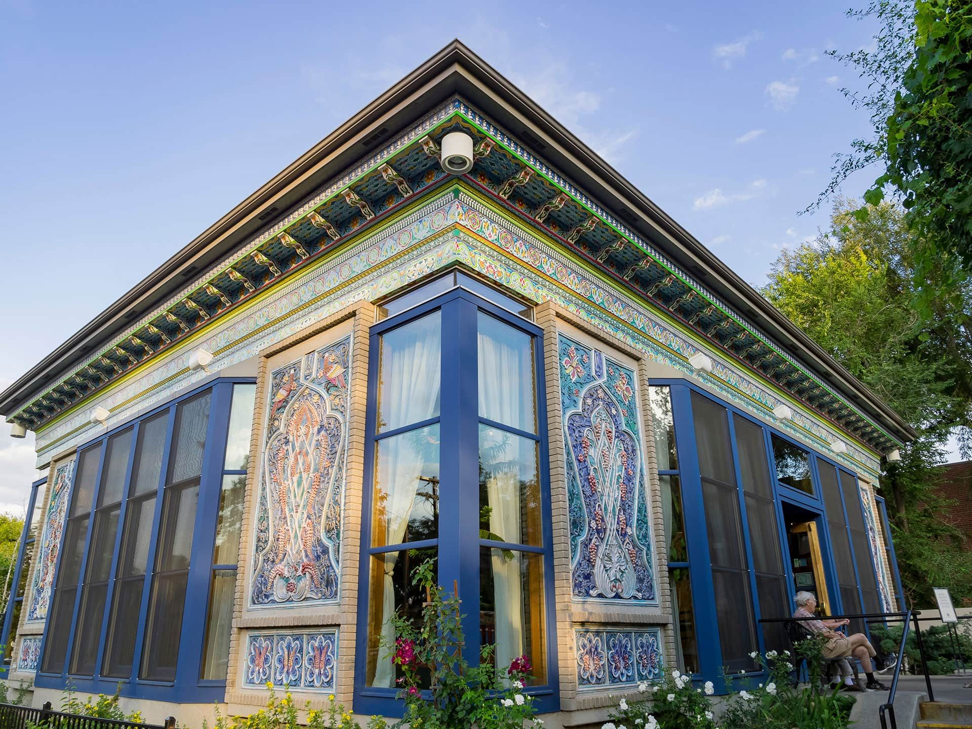 The Boulder Dushanbe Teahouse Hand Crafted In Tajikistan Brings A Piece Of The Himalayas To Colorado 8217 S Front Range Bouldering Tea House Dushanbe