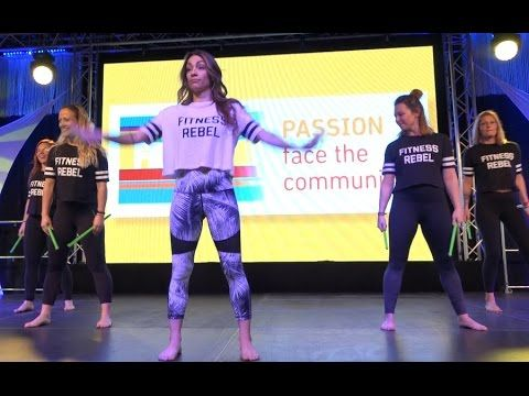 Cardiofitness Köln fibo 2017 köln pound stage performance cardio drummimg