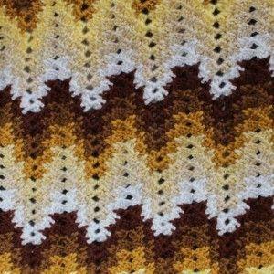 Grandma Spiked My Ripple Blanket – Crochet Uncut