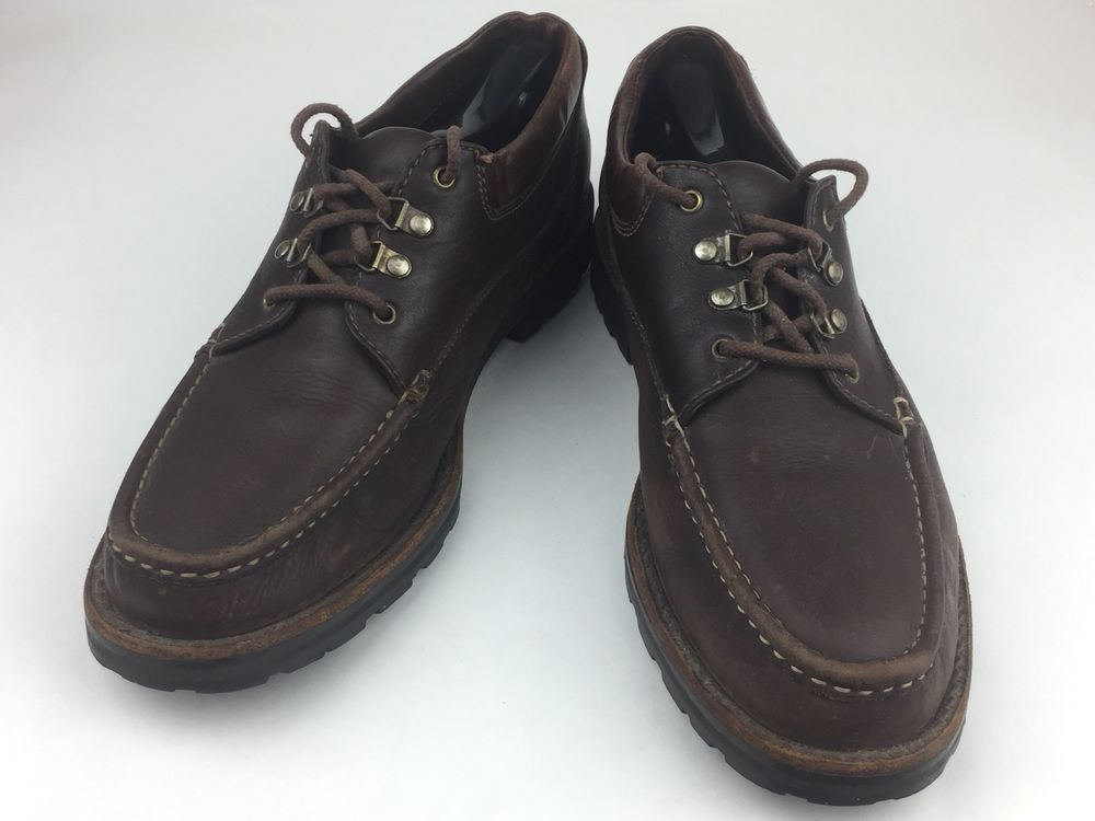 576607180cb Cole Haan Country Mens Brown Leather Moc Toe Casual Shoes Size 10 1 2  300   fashion  clothing  shoes  accessories  mensshoes  casualshoes (ebay link)