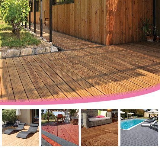 retrouvez les terrasses en bois de piveteaubois pin douglas m l ze bois composite alt. Black Bedroom Furniture Sets. Home Design Ideas