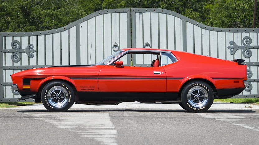 1971 Ford Mustang Boss 351 Fastback 2 1971 Ford Mustang Ford Mustang Boss Mustang Boss